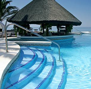 zwembadhut